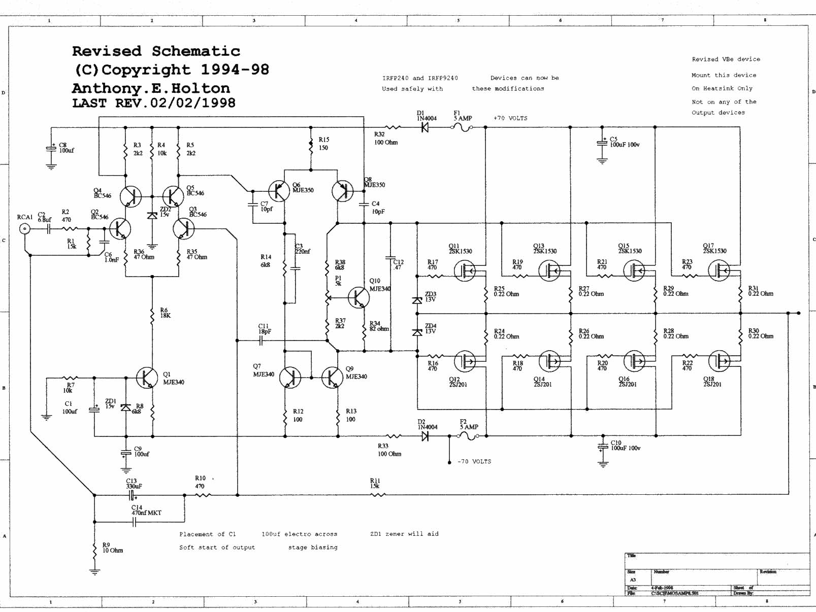 peavey b amp wiring diagram peavey automotive wiring diagrams 300w mosfet power amp ocl hifi cl ab